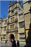 SP5106 : The Tower of The Five Orders, The Bodleian Library by N Chadwick