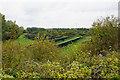ST5479 : Solar farm by Lawrence Weston Road by Bill Boaden
