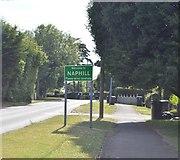 SU8596 : Entering Naphill by N Chadwick