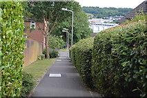 SU8693 : Footpath to Wren Vale by N Chadwick