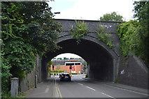 SU8693 : Railway Bridge, Parker Knoll Way by N Chadwick