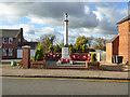 TL1738 : Henlow war memorial by Robin Webster