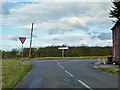 TL1559 : Road junction by Two Brewers by Robin Webster