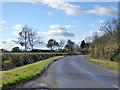 TL1260 : Road nearing Bushmead Farm by Robin Webster