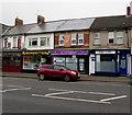 ST3089 : Four Malpas Road businesses, Crindau, Newport by Jaggery