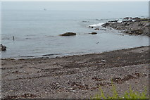 SX5048 : Beach and rocks by N Chadwick