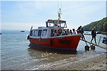 SX4350 : Cawsands Ferry by N Chadwick