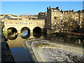ST7564 : Pulteney Bridge & Weir Bath by Roy Hughes