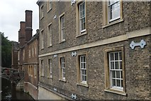 TL4458 : Essex Building, Queens' College by N Chadwick