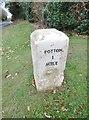 TL2147 : Milestone, Sutton by MilestoneSociety