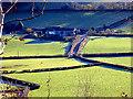 SN6778 : Troedrhiw-ceir Farm by John Lucas