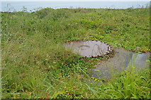SX4949 : Remains of an anti aircraft gun emplacement by N Chadwick