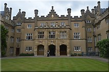 TL4458 : Sidney Sussex College - Hall Court by N Chadwick