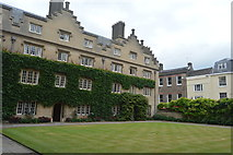 TL4458 : Sidney Sussex College - Garden Court by N Chadwick