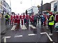 H4572 : Santa Dash, Omagh by Kenneth  Allen