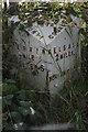 SJ4967 : Old Milepost by JV Nicholls & J Higgins