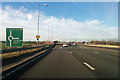 SP9537 : A421 at M1 junction 13 by Robin Webster