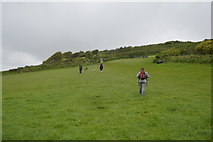SX4952 : South West Coast Path, Jennycliff by N Chadwick