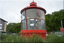 SX4953 : An old lighthouse top by N Chadwick