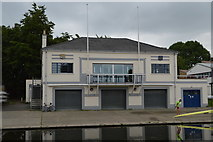 TL4559 : Trinity First and Third Boathouse by N Chadwick