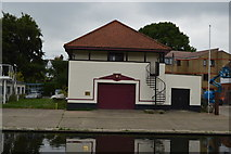 TL4559 : St Catharine's Boathouse by N Chadwick