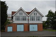 TL4559 : Pembroke Boathouse by N Chadwick