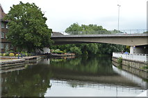 TL4659 : Bridge over the River Cam by N Chadwick