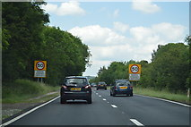 SP5004 : Entering North Hinksey, A34 by N Chadwick