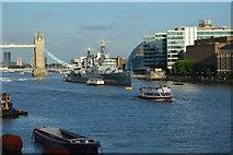TQ3380 : HMS Belfast by N Chadwick