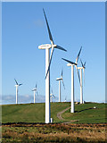 SS9885 : Turbines at the Taff Ely windfarm by Gareth James