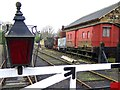 NZ2154 : Rolling stock, Rowley Station, Beamish by Andrew Curtis