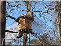 "TQ0083 : Tree house with net walkways, ""Go Ape"" in Black Park by David Hawgood"