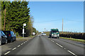 TL3349 : A1198, Ermine Way, heading north by Robin Webster