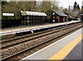 SP1199 : Platform 1, Butlers Lane railway station, Sutton Coldfield by Jaggery
