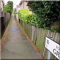 SP1199 : Footpath to Gresley Close, Sutton Coldfield by Jaggery