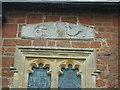 SX8977 : Tympanum, St Mary's Church by Anthony Vosper