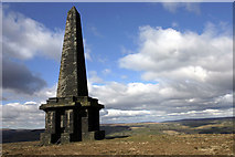 SD9724 : Stoodley Pike by Andy Stephenson
