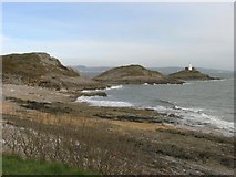 SS6287 : Looking towards the Mumbles Head and Lighthouse by Pam Brophy