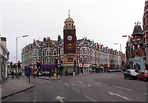 TQ3088 : Crouch End Clocktower by Alan Simkins