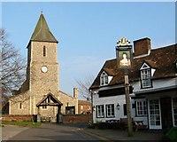 TL1710 : St Leonard's church, Sandridge by Rob Hinkley