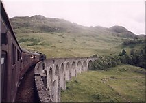 NM9081 : Jacobite Steam Train over the 21 arch viaduct near Glenfinnan by Paul Ashwin