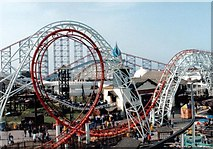 SD3033 : Blackpool Pleasure Beach by Paul Allison