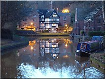SD7400 : Bridgewater Canal at Worsley by Gary Rogers