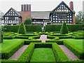 SJ8358 : Knot Garden at Little Moreton Hall: Cheshire by Pam Brophy