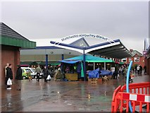 SD8601 : Harpurhey Market by Keith Williamson