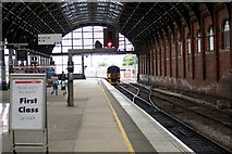NZ2914 : Darlington Station by Dave Eagle