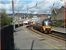 SE0641 : Keighley Railway Station by Michael Parry