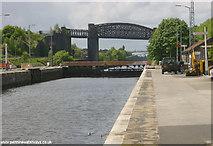 SJ6387 : Latchford Lock, Manchester Ship Canal by Martin Clark