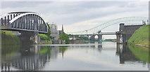 SJ5283 : Old Quay Swing Bridge, Manchester Ship Canal by Martin Clark