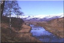 NO3765 : Gella Bridge and Glen Clova by Anne Burgess
